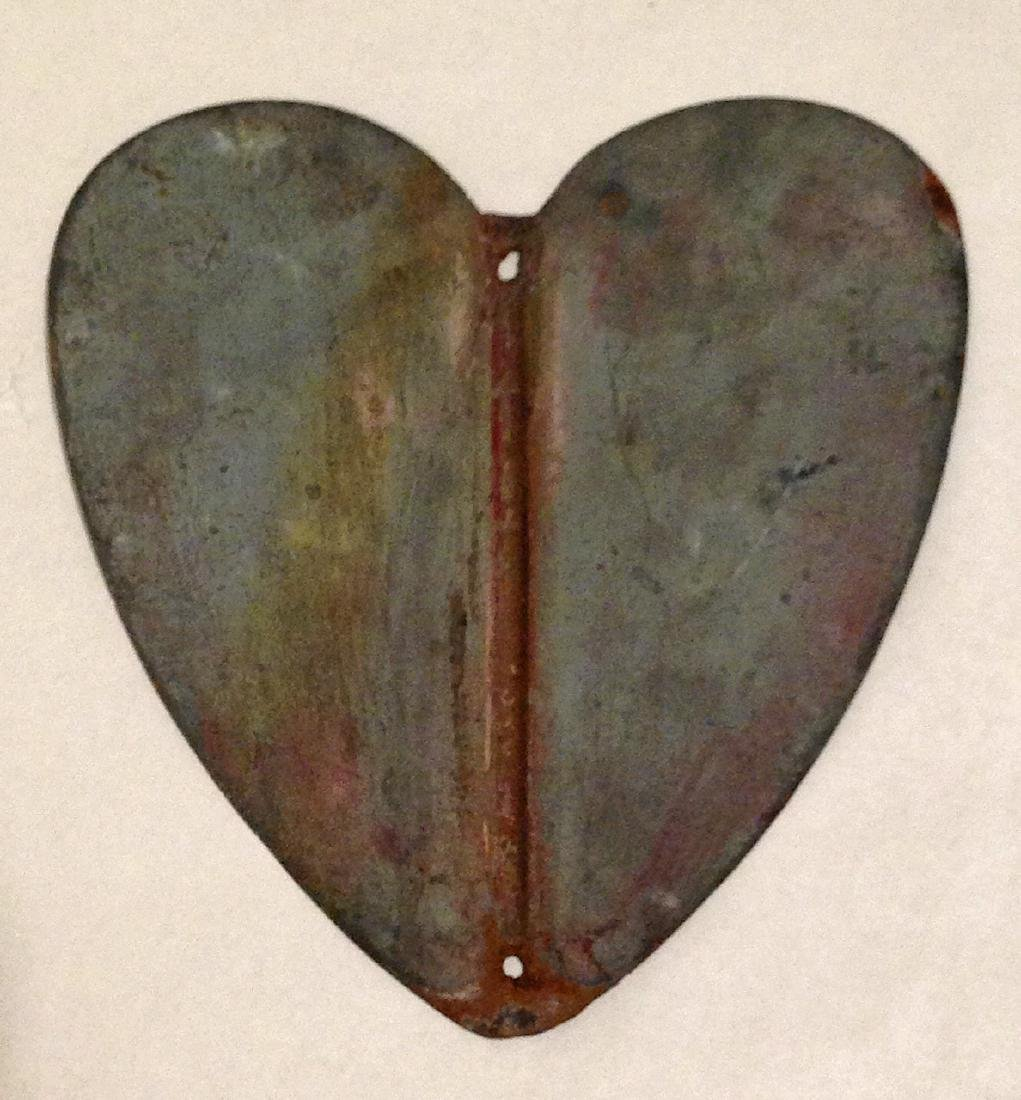 Early 20th Century Metal Heart