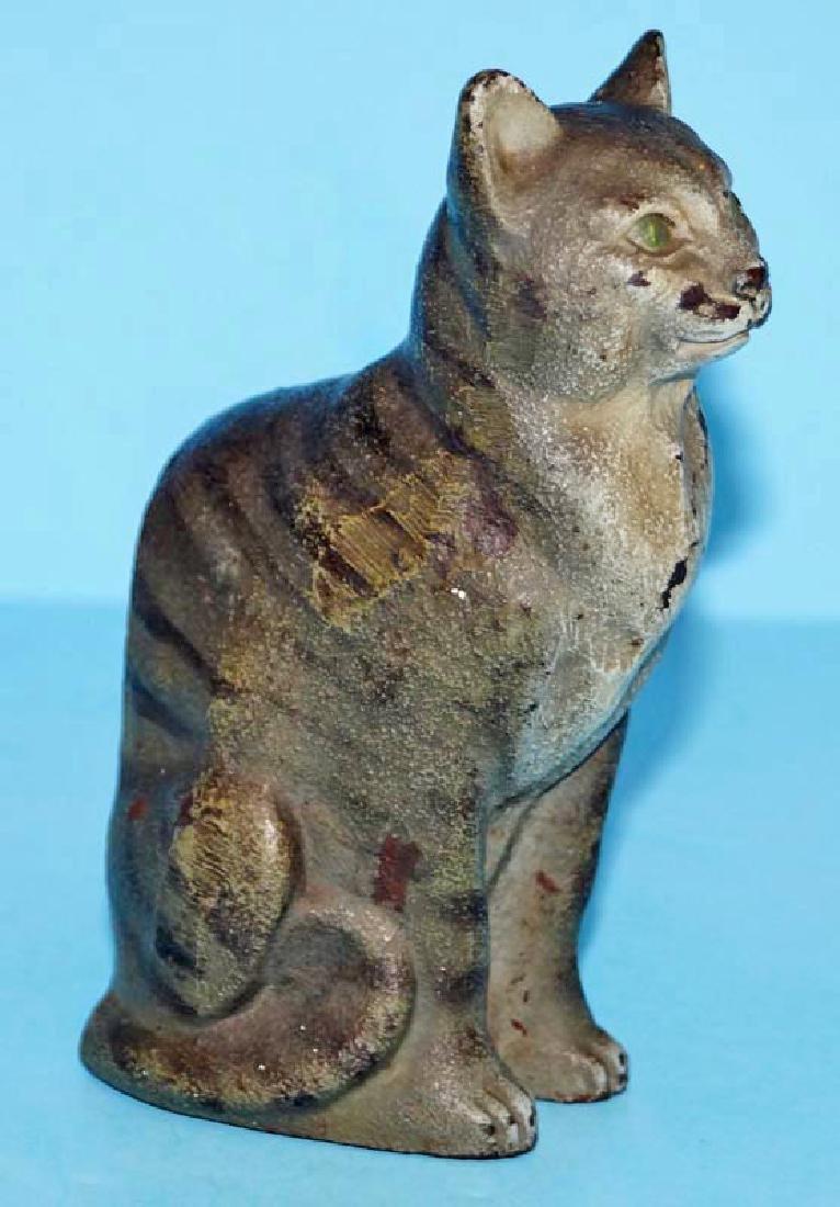 Tabby Cat Cast Iron Doorstop - 2