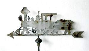 Early Locomotive Weathervane
