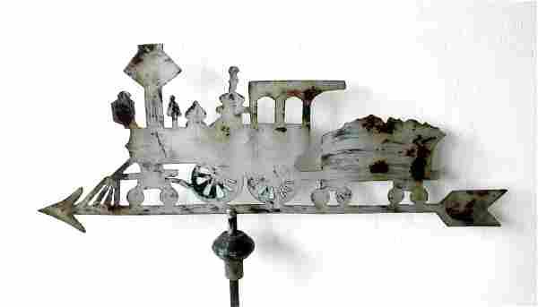 Early Locomotive Weathervane