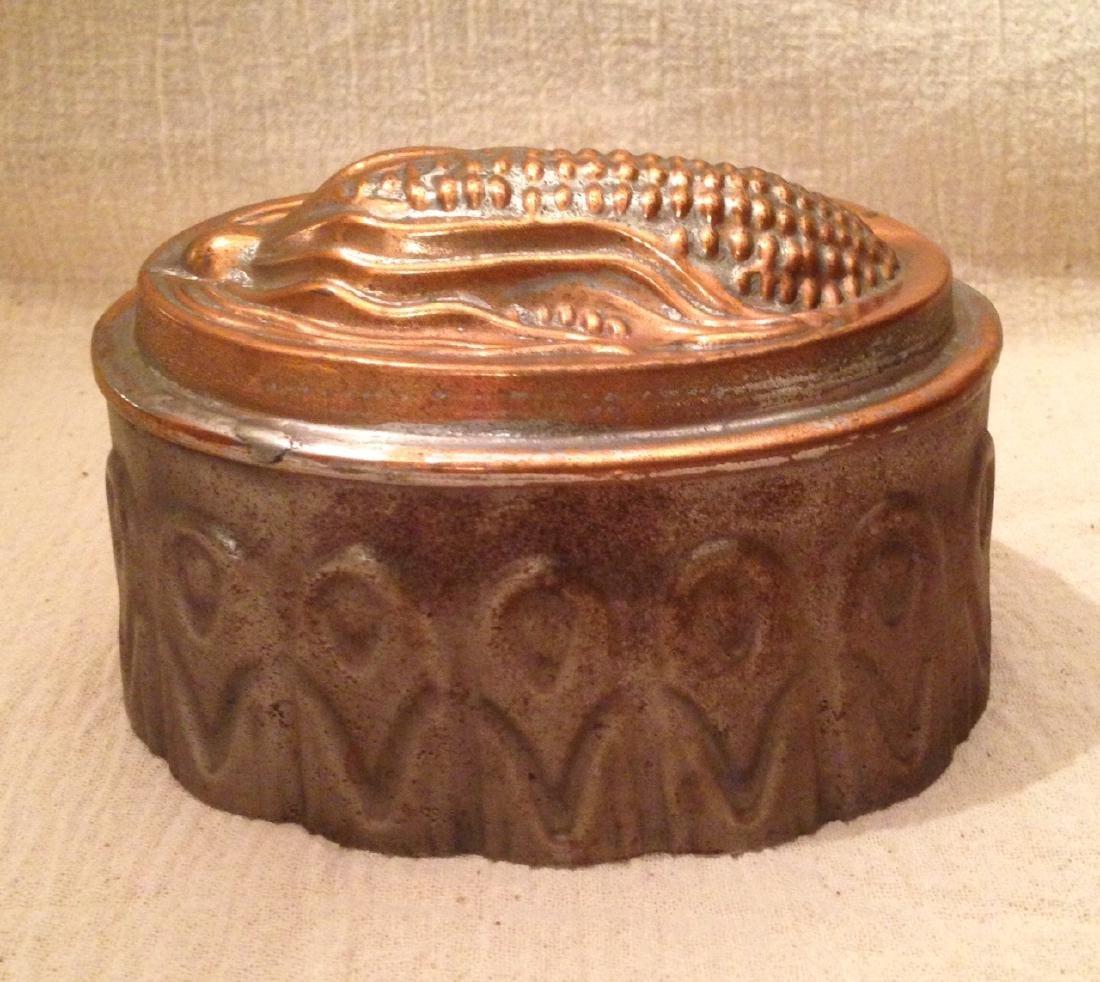 Copper Corn Mold 19th Century - 2