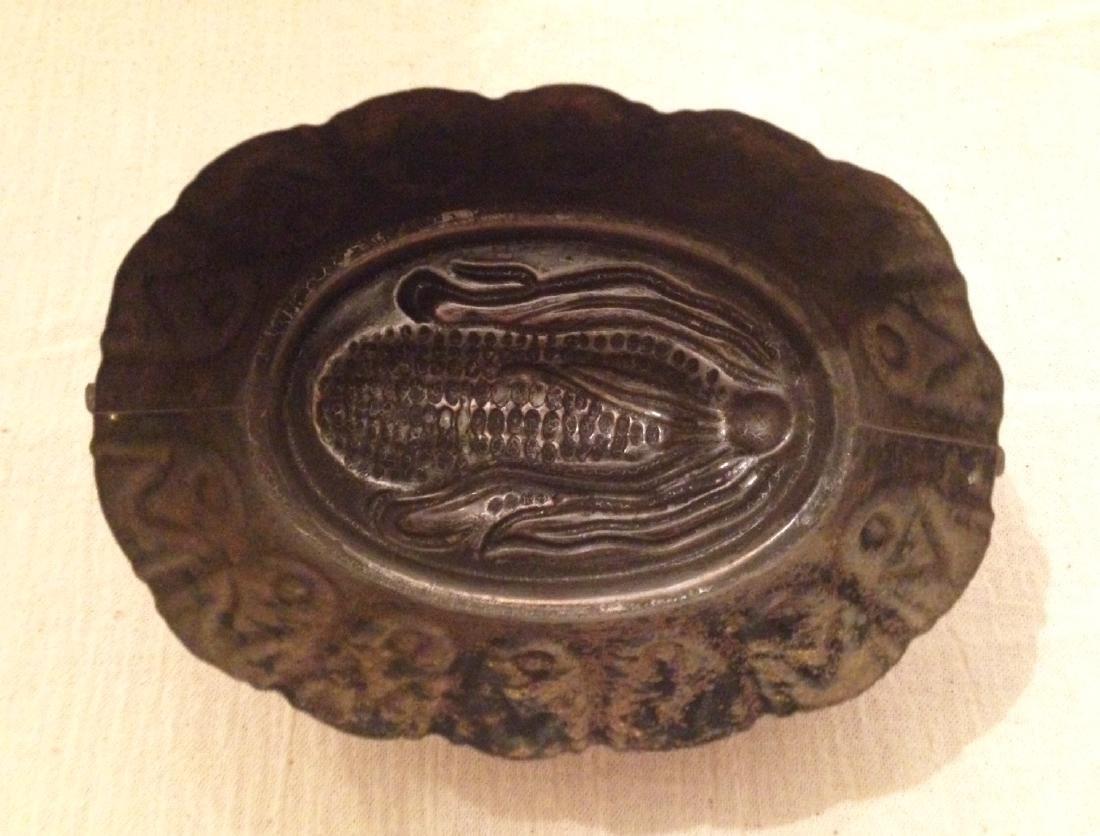 Copper Corn Mold 19th Century - 3