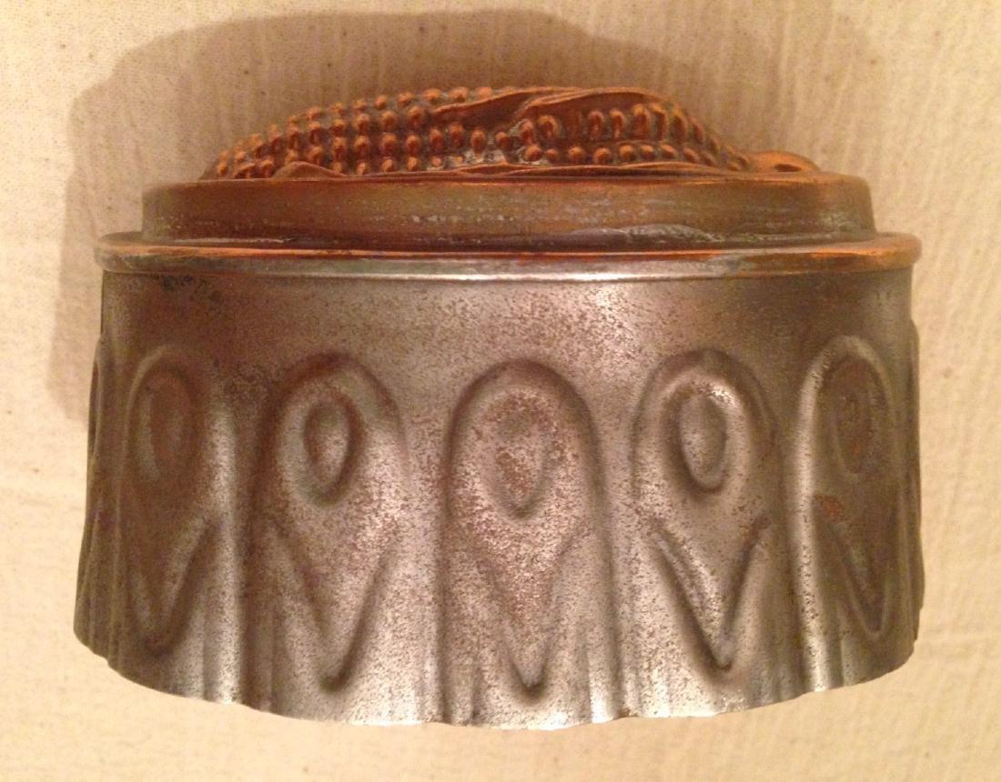 Copper Corn Mold 19th Century - 4
