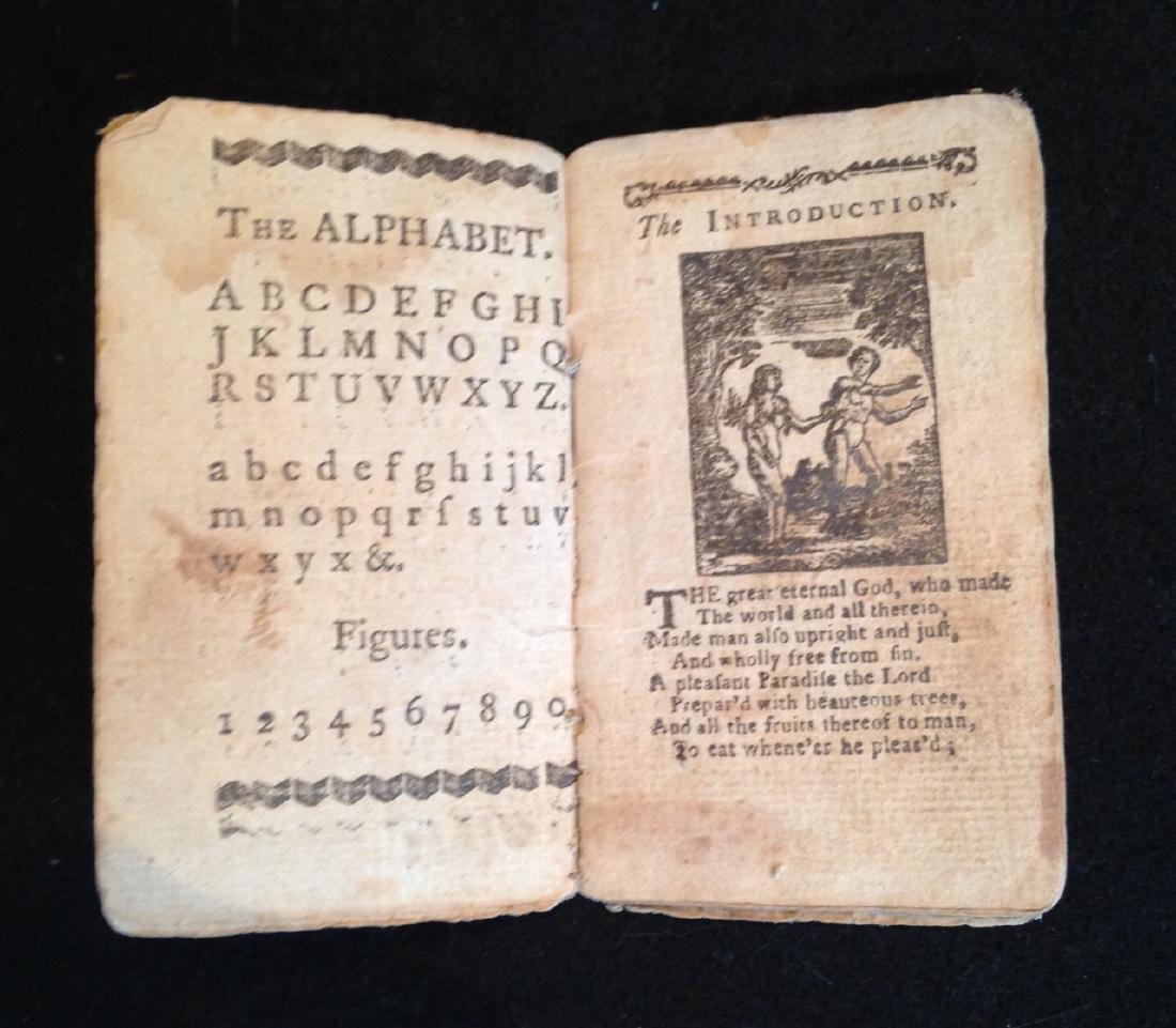 18th Century Children's Booklet - History of Holy Jesus