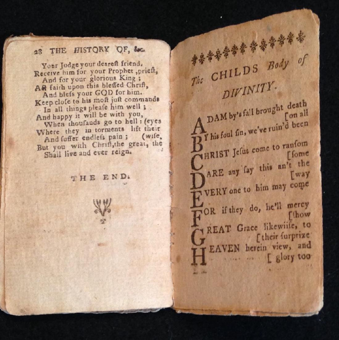 18th Century Children's Booklet - History of Holy Jesus - 3