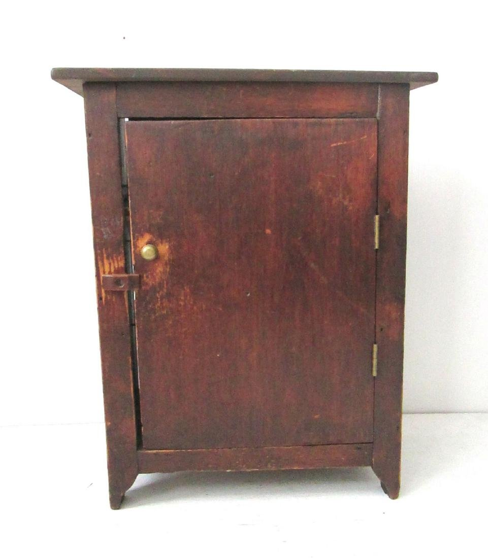 Early Tabletop Painted Cupboard - 2