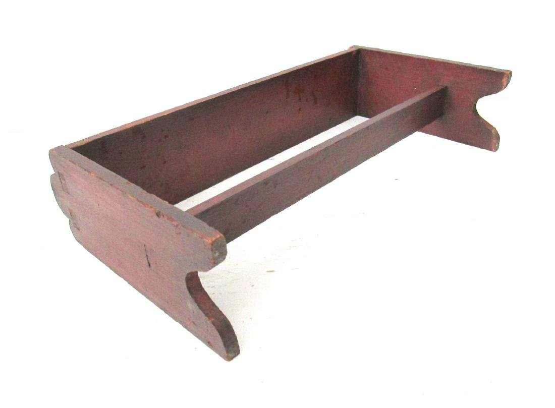 Rare Painted Miniature Bucket Bench - 8