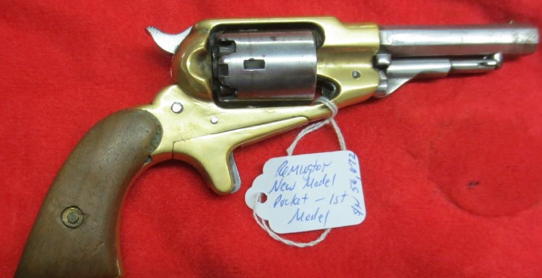 RARE 1st Model Remington Pocket New Model