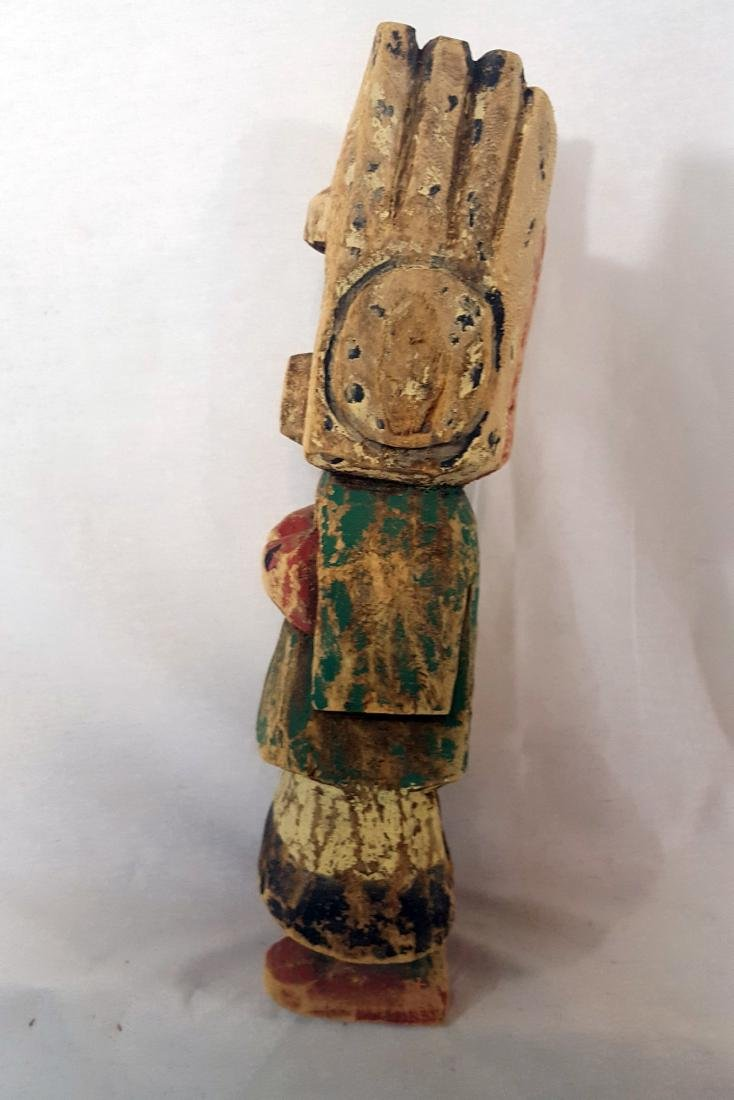 Large Cottonwood Hopi Kachina Doll Early 20th Century - 2