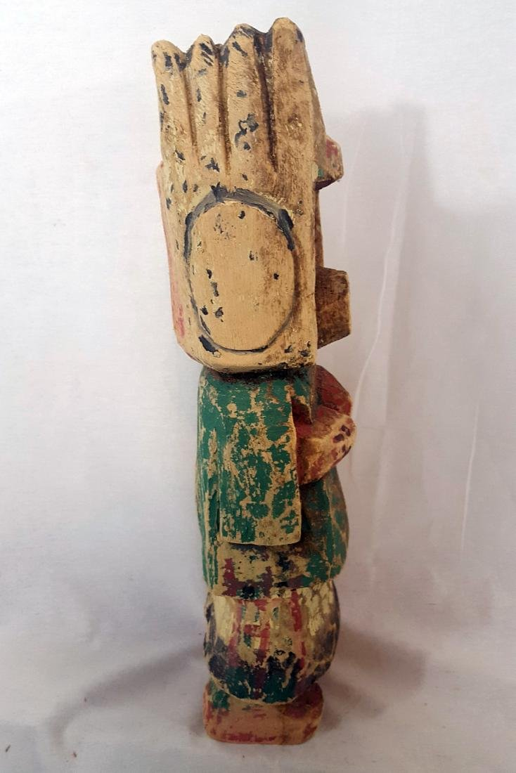 Large Cottonwood Hopi Kachina Doll Early 20th Century - 4