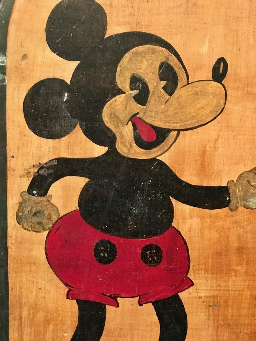 c. 1940 Mickey Mouse Folk Art - 3