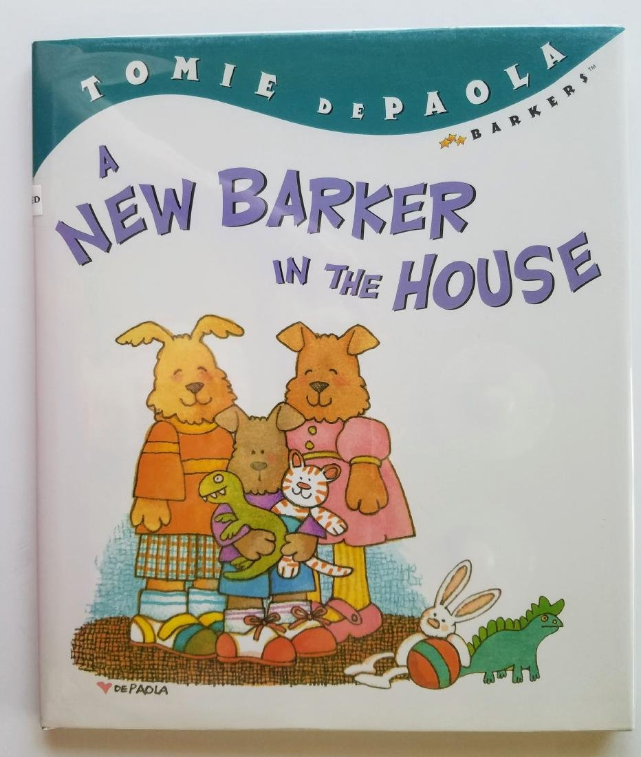 SIGNED New Barker in House First Edition First Print
