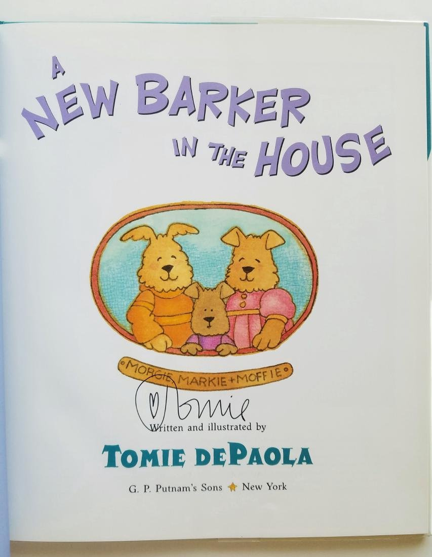 SIGNED New Barker in House First Edition First Print - 2