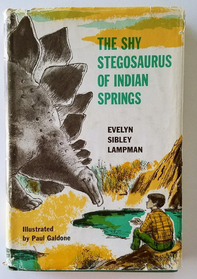 First Edition Rare Dust Jacket Lampman Shy Stegosaurus