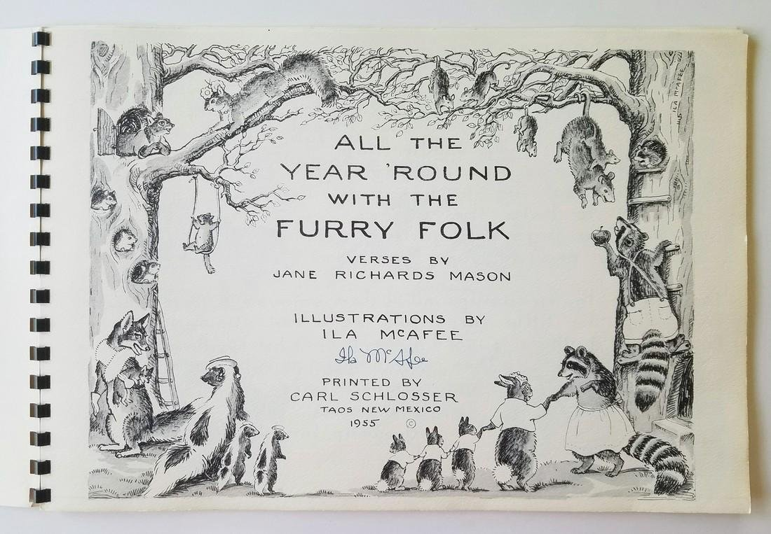 SIGNED Mason Year 'Round with Furry Folk First Edition - 2