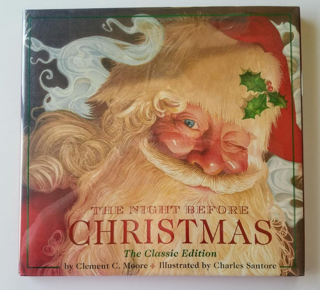 Signed Santore Night Before Christmas First Edition