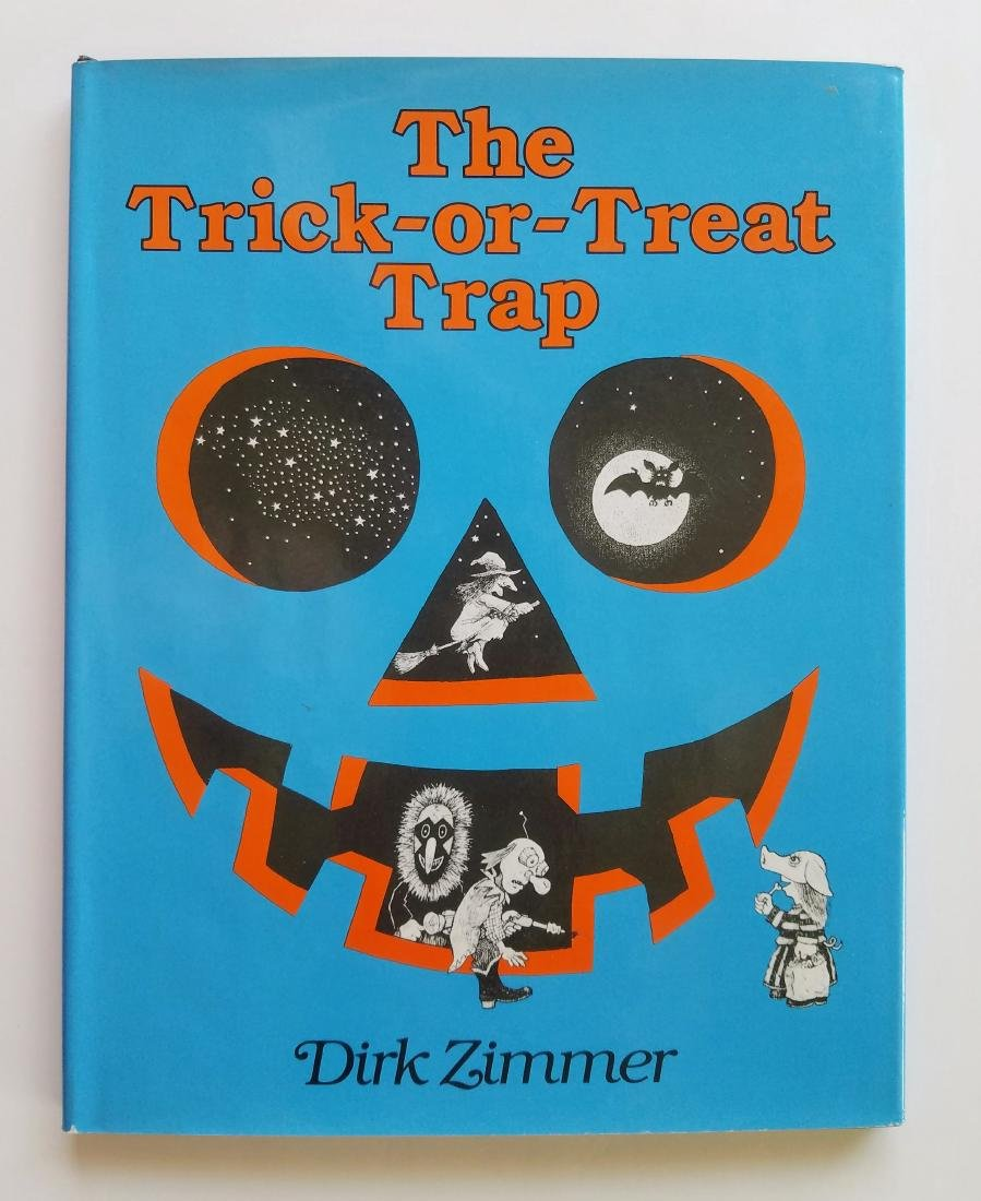Signed Dirk Zimmer Trick-or-Treat Trap First Edition