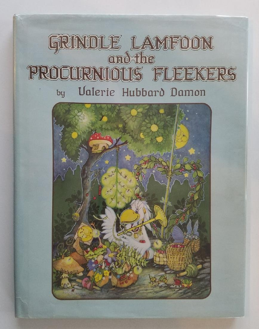 SIGNED Grindle Lamfoon Fleekers Damon First Edition