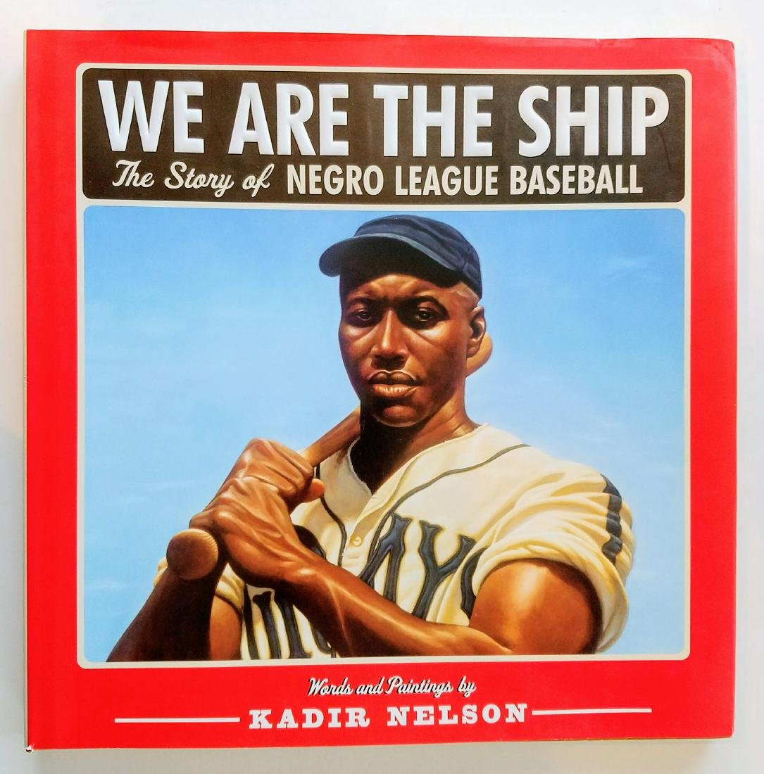 Negro League Baseball Signed First Edition First Print