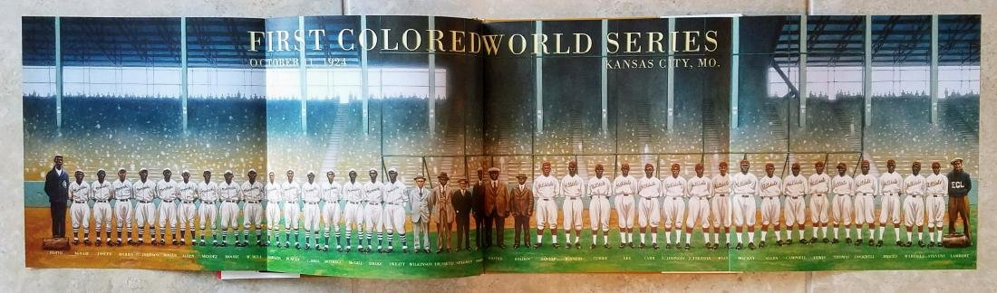 Negro League Baseball Signed First Edition First Print - 4