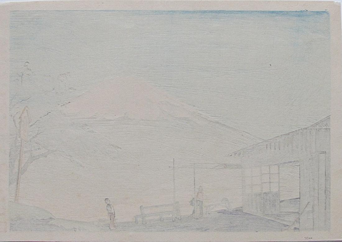Tomikichiro Tokuriki Woodblock Clear Autumn Otome Pass - 2