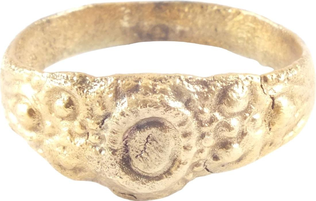 FINE EARLY CHRISTIAN RING C.7th-10th CENTURY