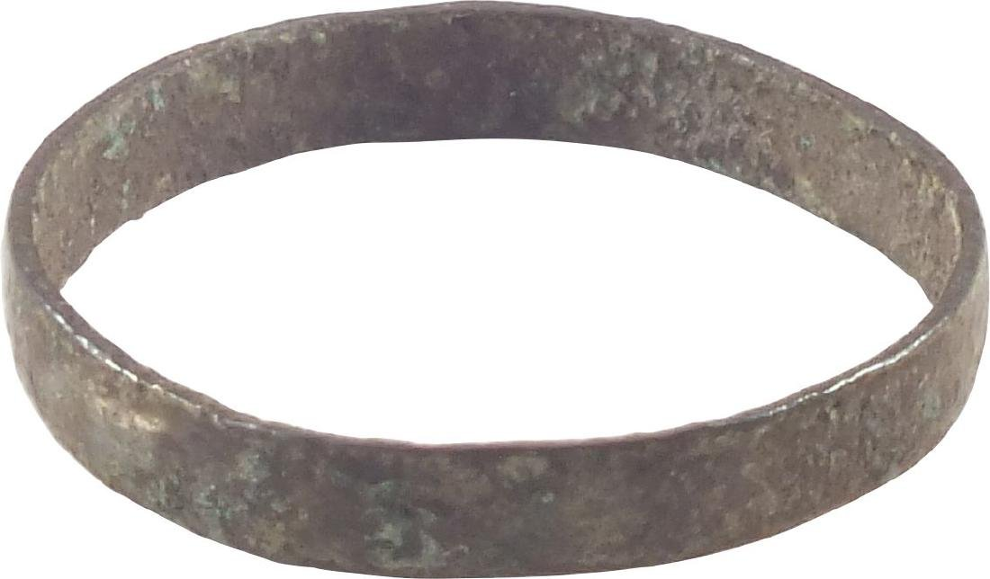 VIKING WOMAN'S WEDDING RING 850-1050 AD