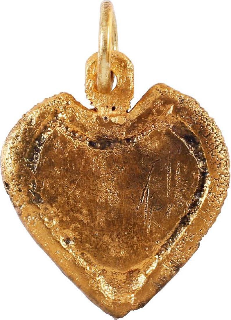 FINE VIKING HEART PENDANT C.850-1050 AD