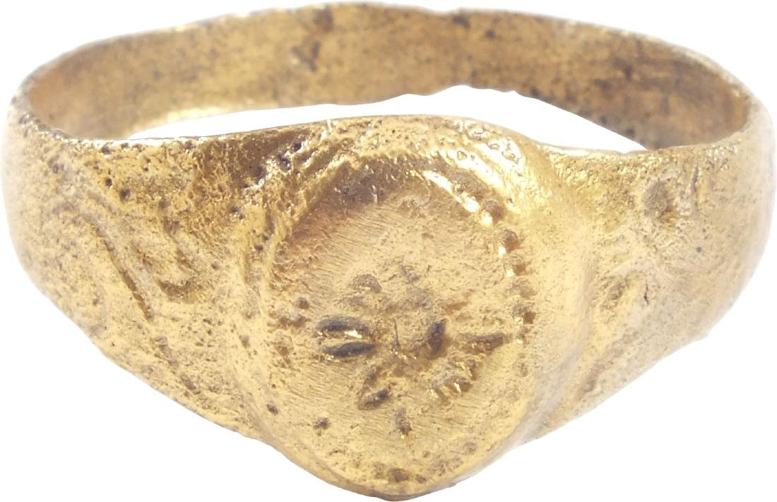 EARLY CHRISTIAN RING C.8th-10th CENTURY