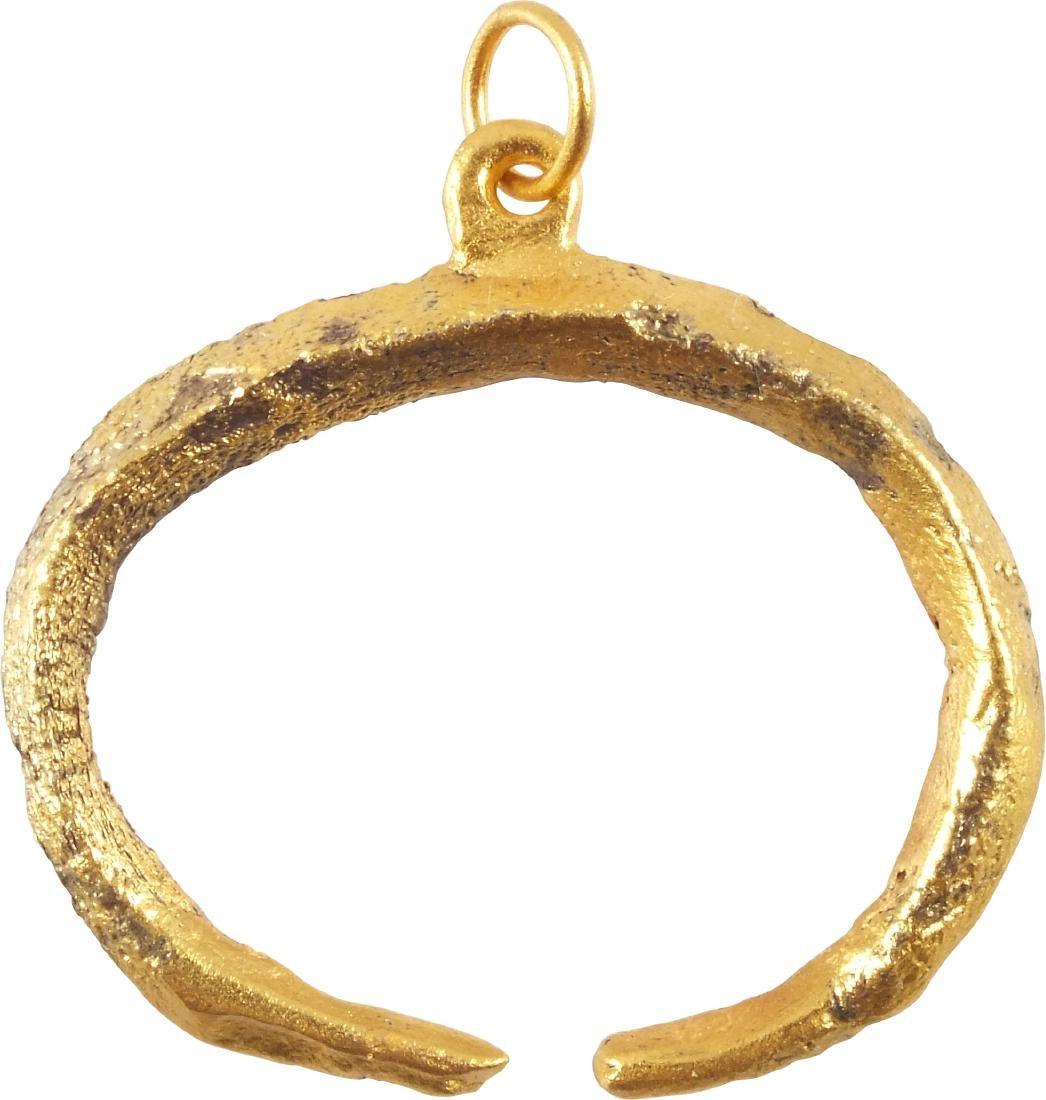 VIKING LUNAR/ASTROLOGICAL PENDANT C.900-1000 AD