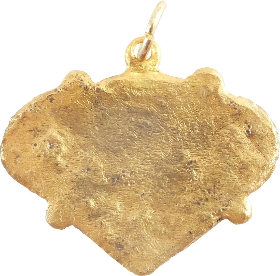 VIKING HEART PENDANT 850-1050 AD - 2