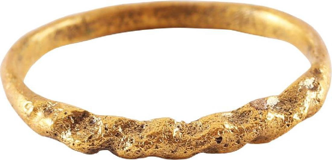 VIKING WOMAN'S RING FROM ENGLAND, 10th CENTURY