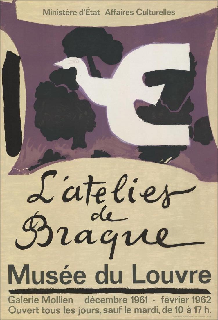 Georges Braque Original Stone Lithograph