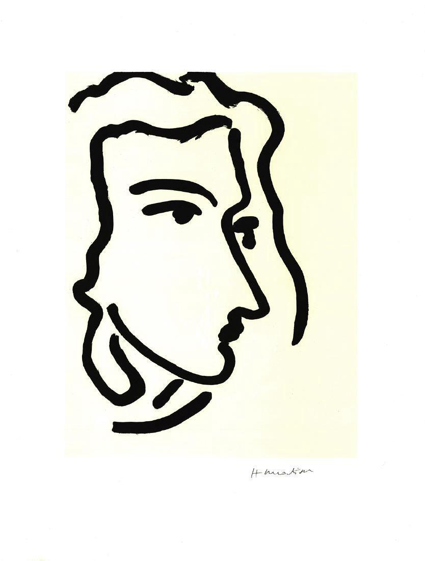 Henri Matisse Nadia Regardant A Droite, Femme III