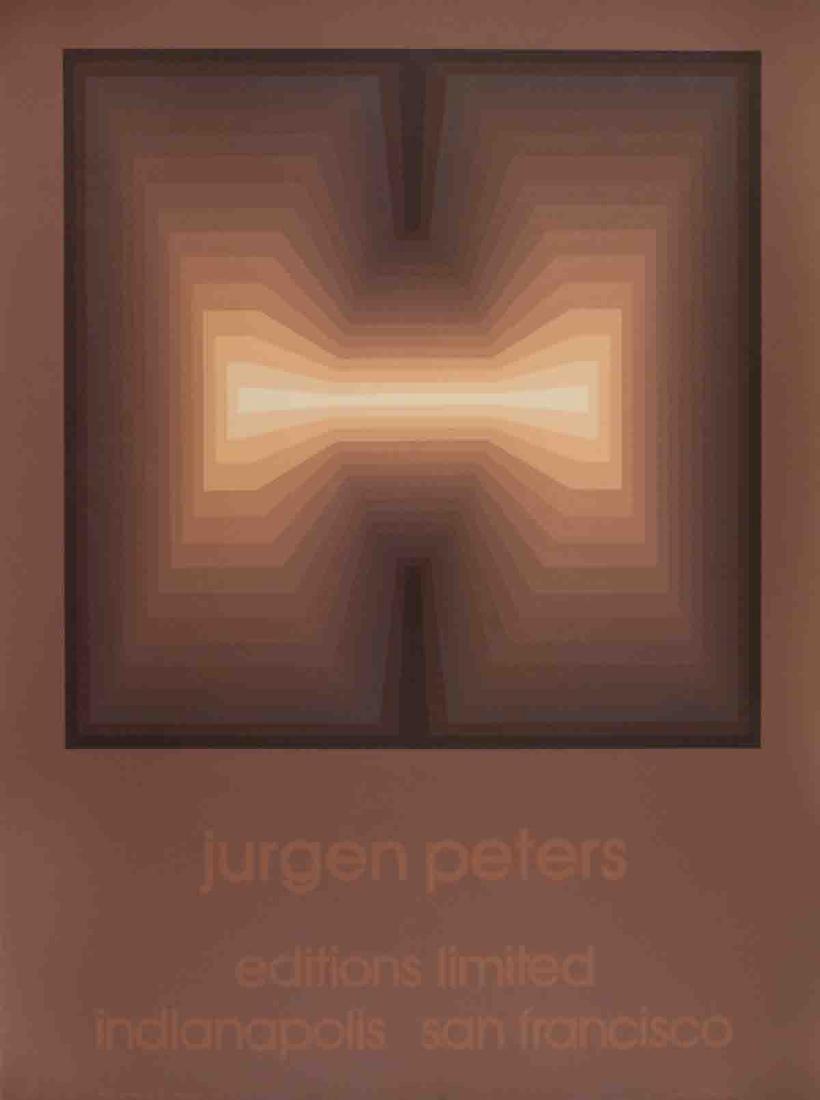 Jurgen Peters Serigraph Arc