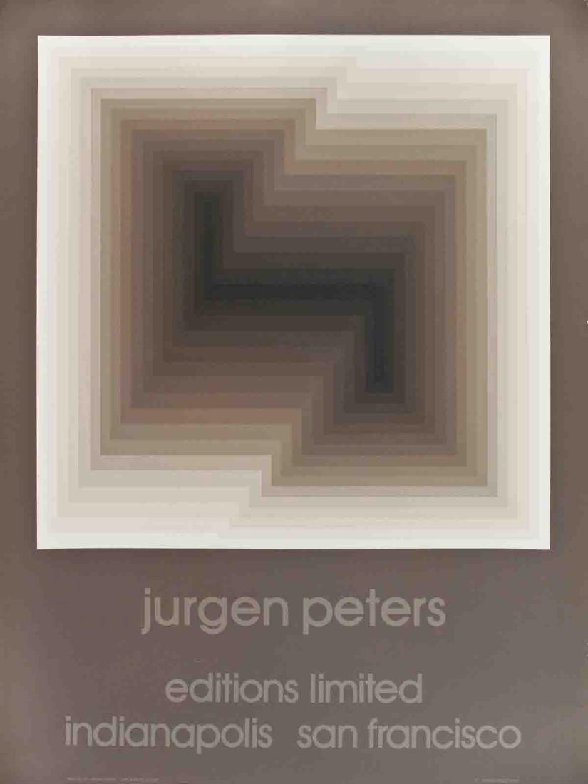 Jurgen Peters Serigraph Diagonal
