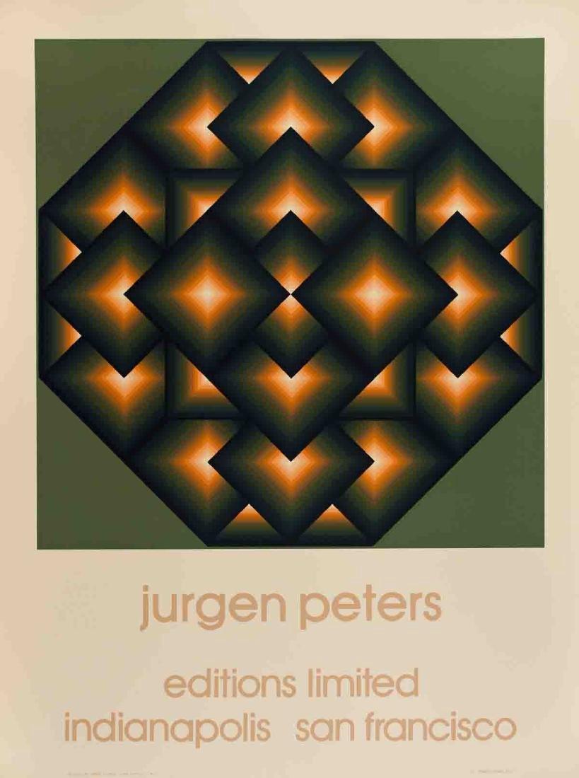Jurgen Peters Serigraph Octagon V