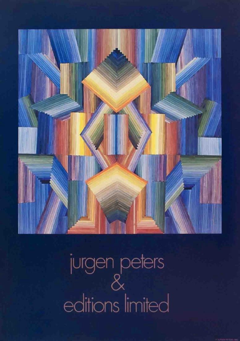 Jurgen Peters Serigraph Prism
