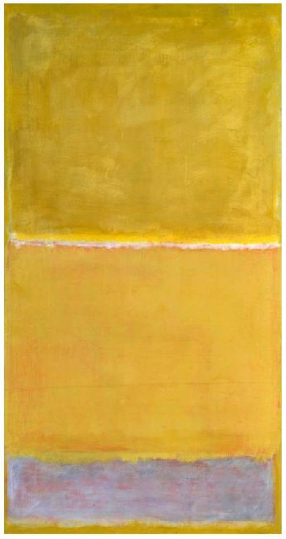 Mark Rothko Untitled Yellow c. 1950/1999 Silkscreen