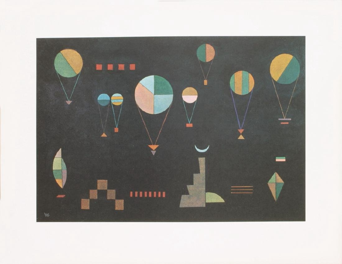 Wassily Kandinsky 3 Assorted Lithographs