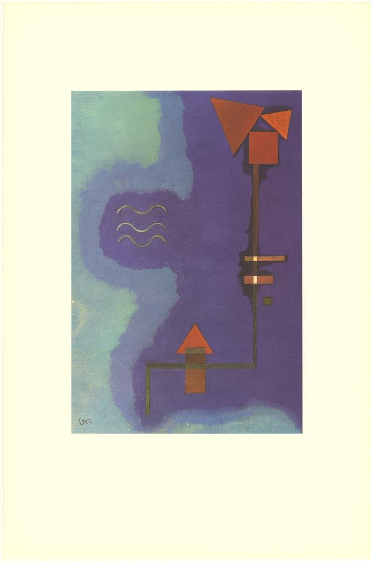 Wassily Kandinsky 3 Assorted Lithographs - 3
