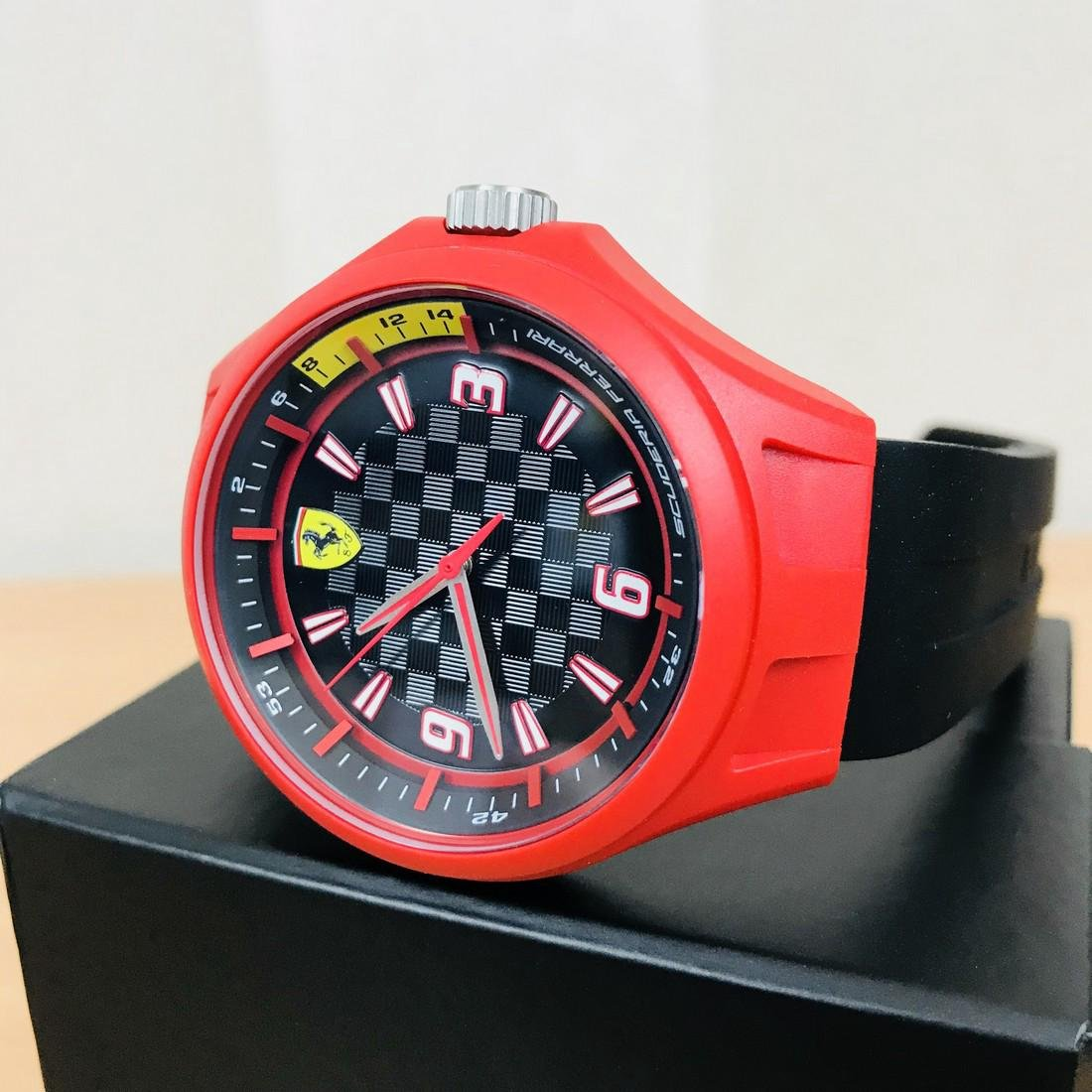 Scuderia Ferrari – Men's Wrist Watch – New With Box - 2