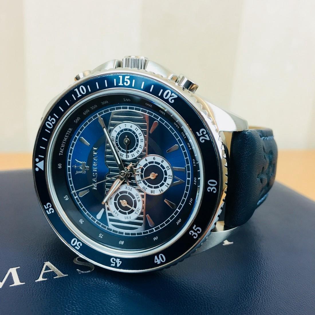 MASERATI – Men's Quartz Chronograph Watch - 10