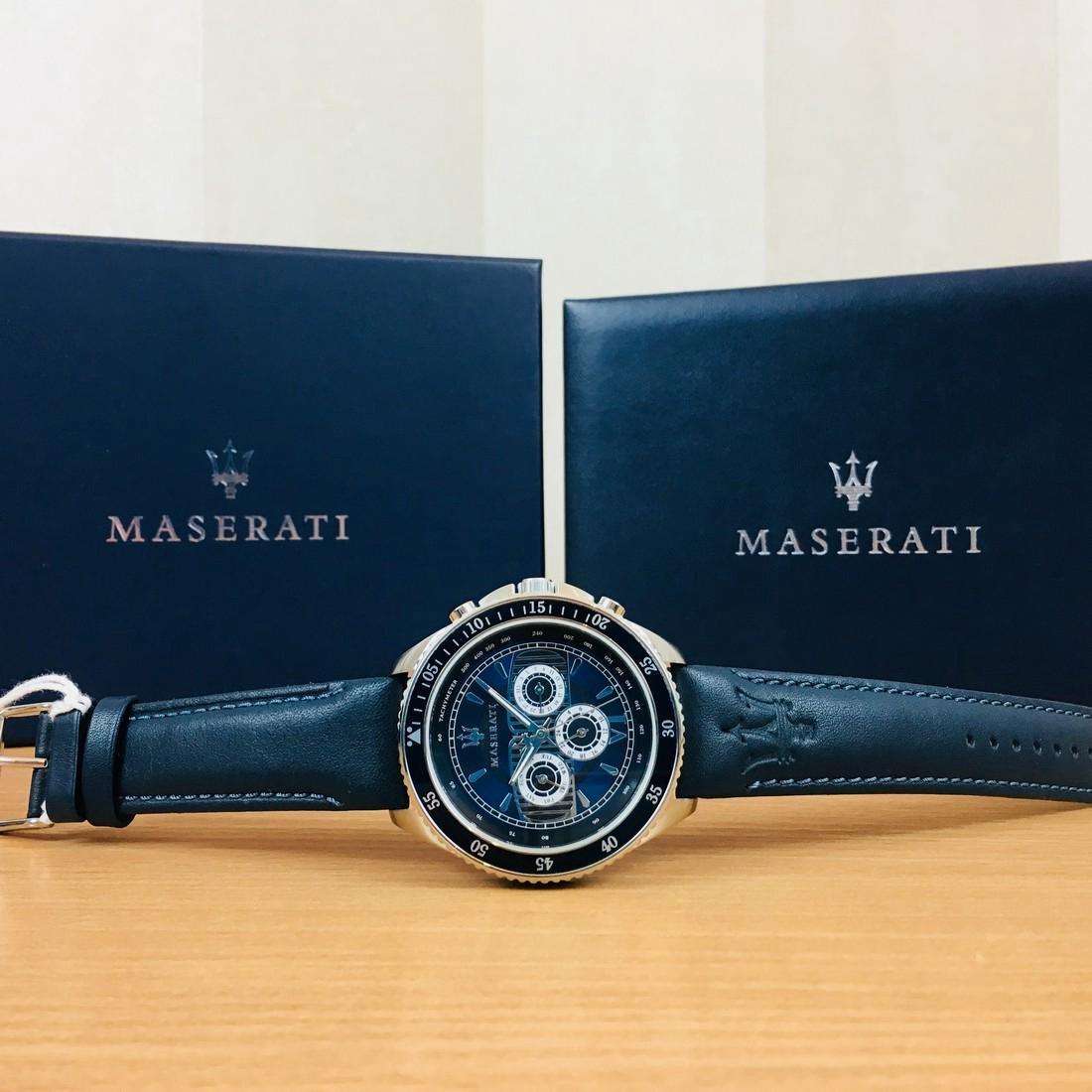 MASERATI – Men's Quartz Chronograph Watch - 4