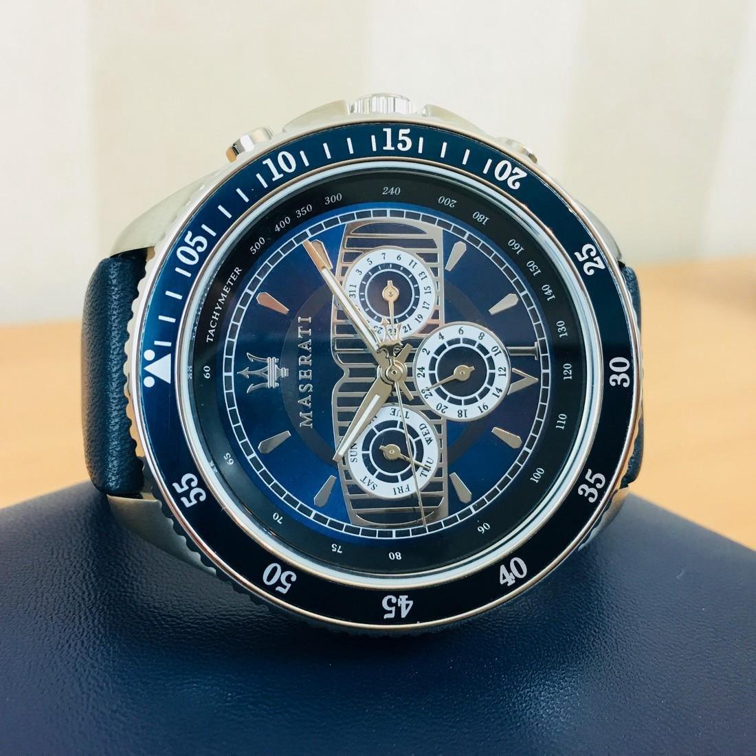 MASERATI – Men's Quartz Chronograph Watch - 5