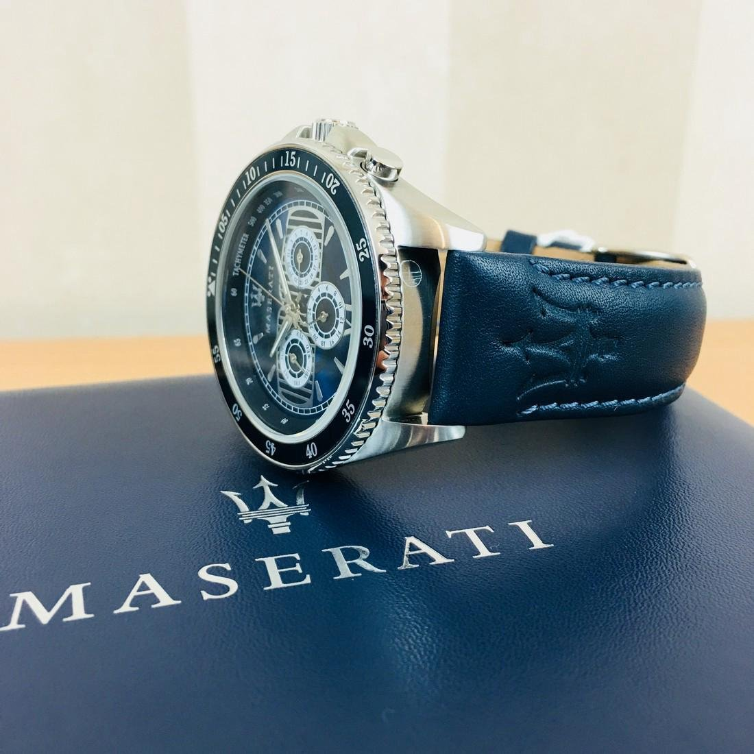 MASERATI – Men's Quartz Chronograph Watch - 6
