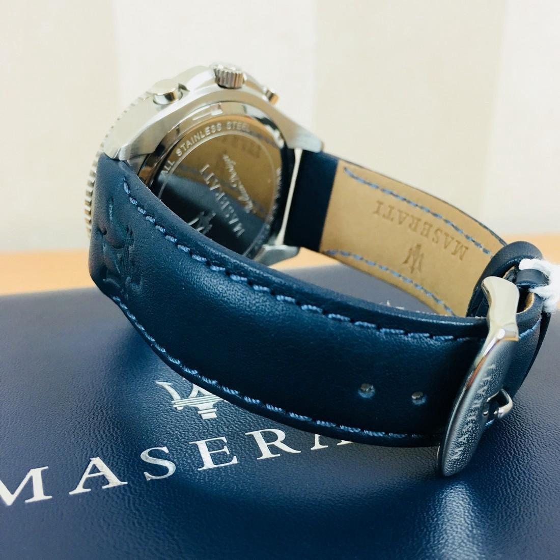 MASERATI – Men's Quartz Chronograph Watch - 7