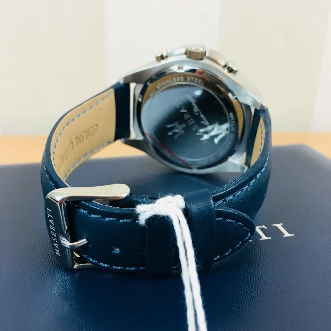 MASERATI – Men's Quartz Chronograph Watch - 8