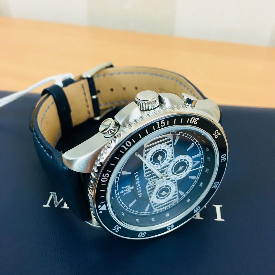 MASERATI – Men's Quartz Chronograph Watch - 9