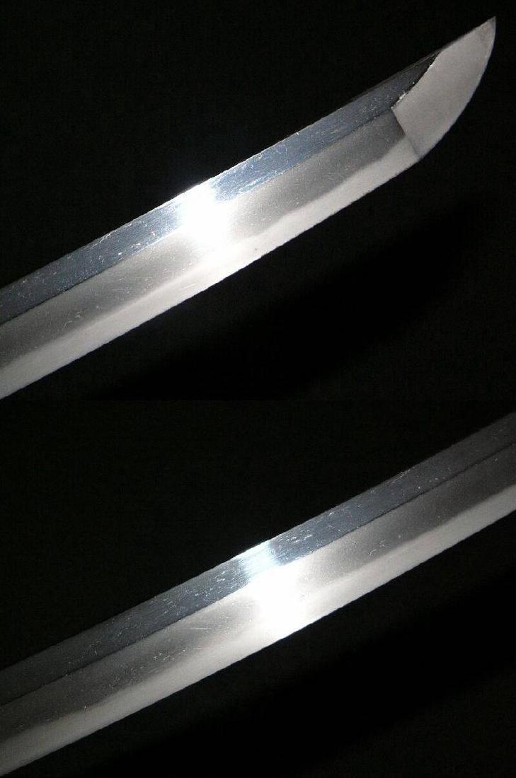 Antique Japanese Sukesada Steel Short Sword, c1500 - 3